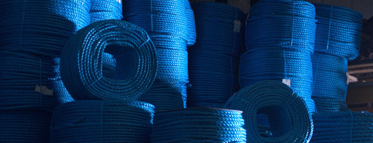 polyproplyene ropes coloured poly ropes