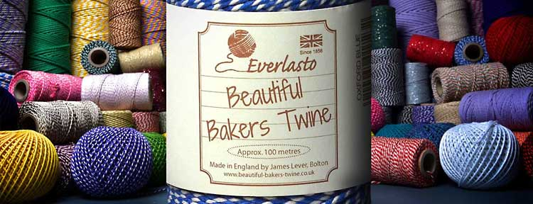 Bakers Twines UK manufacturers twine strings