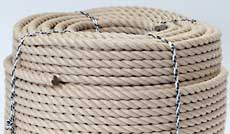 polyhemp rope manufacturerd and supplied in coils uk enquiries