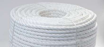 White Polypropylene Ropes